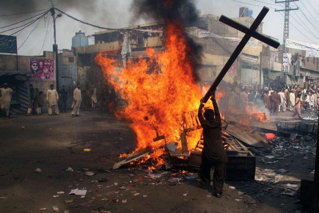 Сжигание креста